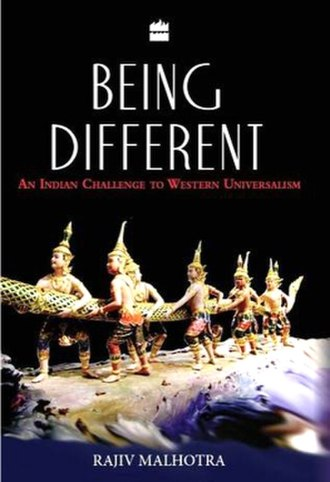 Being Different - Image: Malhotra Being Different 2011 FRONT COVER