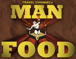 Man v. Food - Image: Man v Food logo square