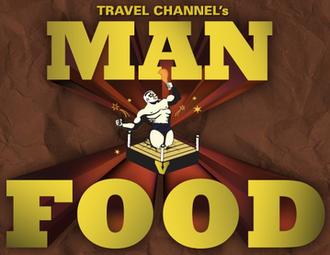 Man v. Food - Image: Man v Food logo square