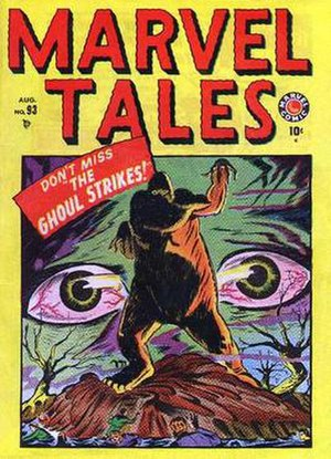 Marvel Tales #93 (Aug. 1949). Cover art by Nodell.