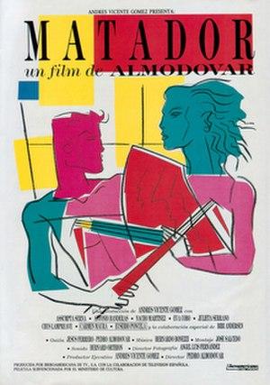 Matador (film) - Theatrical release poster by Carlos Berlanga