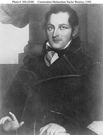 First Battle of Sacket's Harbor - Captain Melancthon Woolsey commanded American troops during the battle.