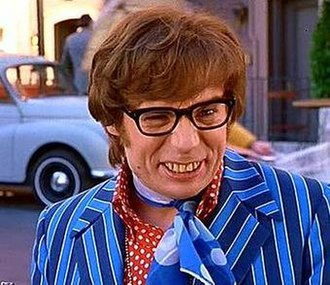 Austin Powers (character) - Image: Mike Myers Austin Powers 1