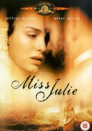 Miss Julie (1999 film) - Image: Miss Julie