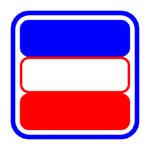 Montreal Bleu Blanc Rouge - Image: Montreal red white blue