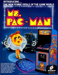 <i>Ms. Pac-Man</i> 1982 video game