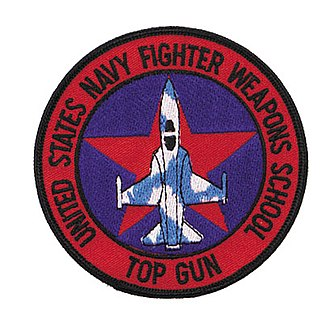 United States Navy Strike Fighter Tactics Instructor program - Unofficial NFWS patch with F-5 planform
