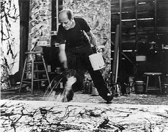 Jackson Pollock - Photographer Hans Namuth extensively documented Pollock's unique painting techniques.