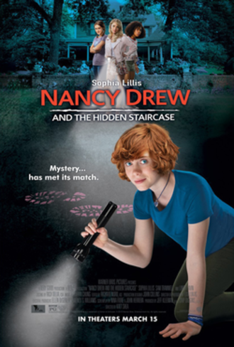 Nancy Drew and the Hidden Staircase (2019 film) - Theatrical release poster