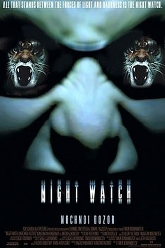 Night Watch (2004 film) - Original English language poster for Night Watch