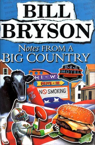 Notes from a Big Country - Front cover of first edition
