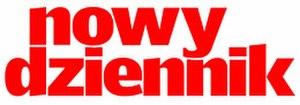 Nowy Dziennik - Image: Nowy dziennik logo