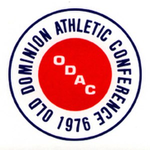 Old Dominion Athletic Conference - ODAC logo from 1976 to 2010