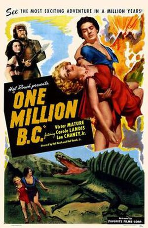 One Million B.C. - Theatrical release poster