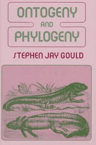 Ontogeny and Phylogeny (book) - Image: Ontogeny 1977