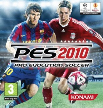 Pro Evolution Soccer 2010 - Image: PES 2010 UK Cover