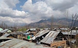 Padgampora Village in Jammu & Kashmir, India
