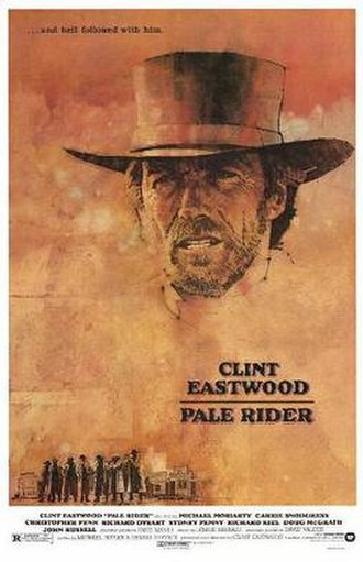 Pale Rider - Theatrical release poster by C. Michael Dudash