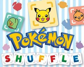 Pokémon Shuffle - Image: Pokemon F2PShuffle Logo