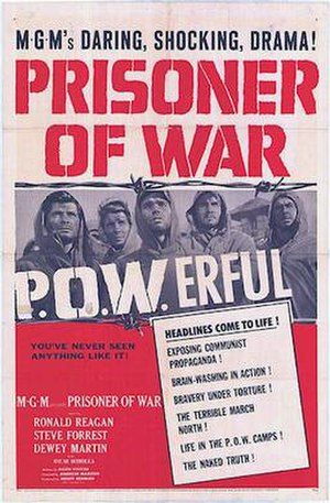 Prisoner of War (film) - 1954 Theatrical Poster