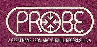 Probe Records - Probe's 1970-74 European logo