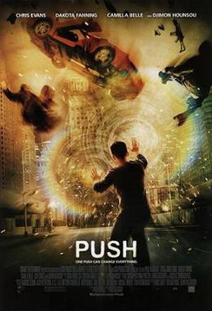 Push (2009 film) - Theatrical release poster