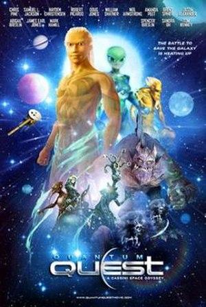 Quantum Quest: A Cassini Space Odyssey - Theatrical release poster