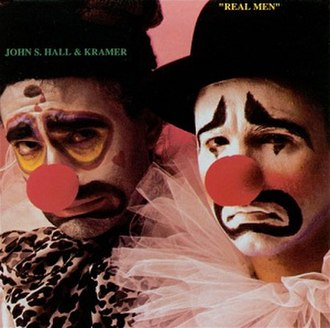 Real Men (album) - Image: Real Men (John S. Hall and Kramer album) coverart