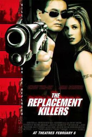 The Replacement Killers - Theatrical release poster