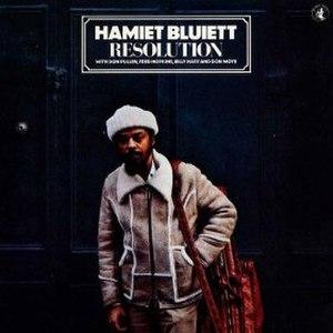 Resolution (Hamiet Bluiett album) - Image: Resolution (Hamiet Bluiett album)