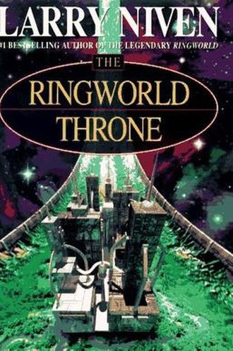 The Ringworld Throne - Ballantine front-cover