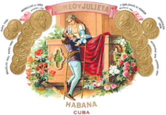 Romeo y Julieta (cigar) - The Romeo y Julieta logo