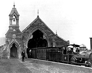 Rookwood, New South Wales - The Mortuary Station in Rookwood Cemetery c. 1865