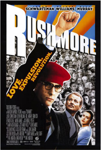 Rushmore (film) - Theatrical release poster