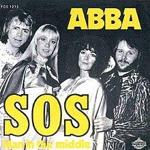 ABBA — SOS (studio acapella)