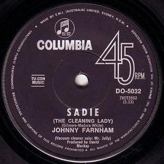 Sadie (album) - Sadie (The Cleaning Lady