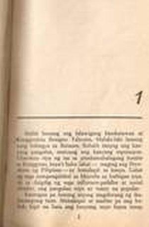 Satanas sa Lupa - Image: Satanas sa Lupa Chapter 1 page