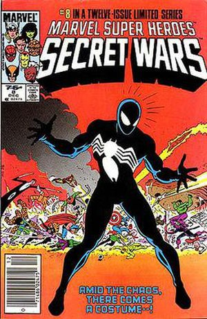 Symbiote (comics) - Image: Secret Wars 8