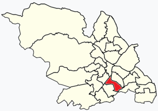 Gleadless Valley (ward) Electoral ward in the City of Sheffield, South Yorkshire, England