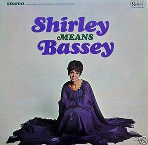I've Got a Song for You - Image: Shirley Means Bassey