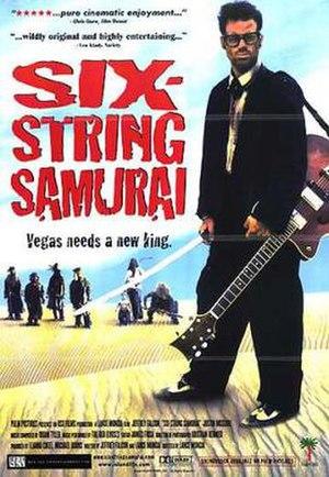 Six-String Samurai - Six-String Samurai film poster
