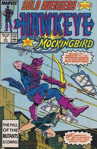 Solo Avengers - Image: Solo avengers hawkeye issue 1 1987
