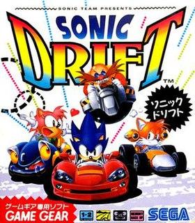<i>Sonic Drift</i> 1994 video game