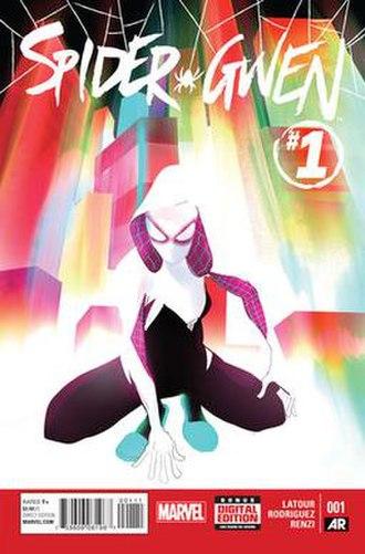 Spider-Gwen - Image: Spider Gwen Vol 1 1