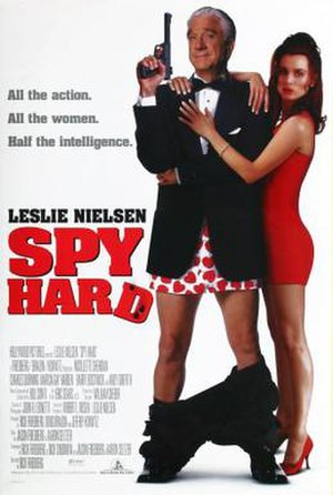 Spy Hard - Theatrical release poster