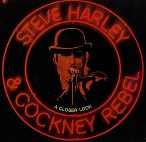 A Closer Look (Steve Harley & Cockney Rebel album) - Image: Steve Harley & Cockney Rebel A Closer Look 1975 Album Cover