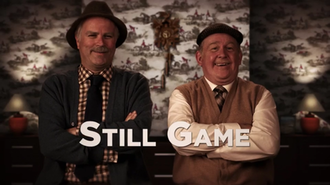 Still Game - Image: Still Game Title Card