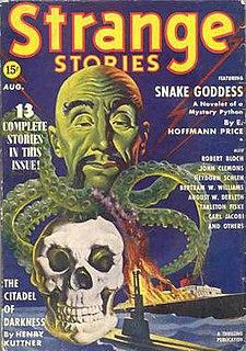 <i>Strange Stories</i> US pulp fantasy magazine