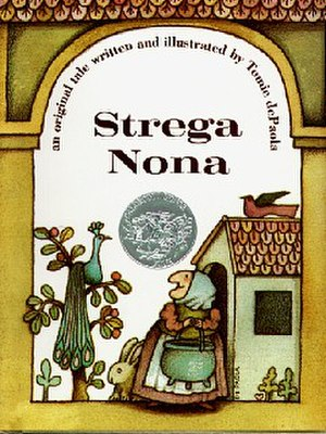 "Strega Nona - Cover with correct ""an original tale..."" subtitle"