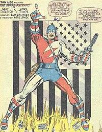 Super Patriot Marvel Comics Wikipedia